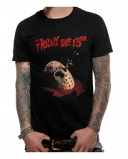 Jason Mask Friday The 13th T-shirt