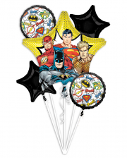Justice League DC Folienballon Bouquet