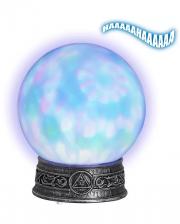 Kaleidoskop Kristallkugel Sound & Licht 20cm
