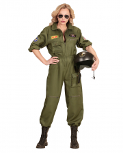 Fightjet Pilot Ladies Costume