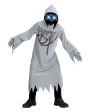 Chain Ghost With Luminous Eyes Children Costume