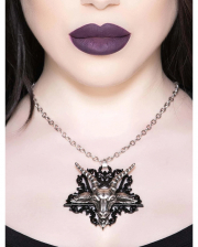 KILLSTAR Hail Satana Necklace