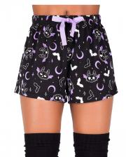 KILLSTAR Batty Shorts Schlafhose
