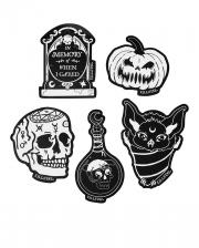 KILLSTAR Feeling Spooky Stickers 5 Pcs.