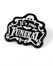 KILLSTAR Funeral Pin Button