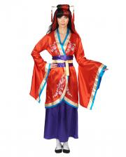 3-piece Kimono Costume With Belt