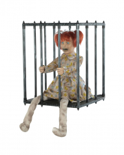 Child In A Cage Walking Act Halloween Animatronic