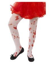 Children Tights Blood Spatter
