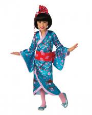 Kirschblüten Geisha Kinderkostüm