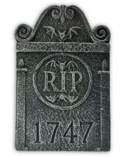 Mini Grabstein R.I.P. 1747