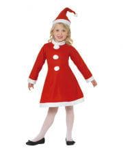 Little Santa Girl Child Costume
