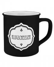 Klugscheißer Keramik Tasse