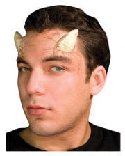Bone horns made of latex