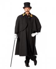 Kostüm Kutschermantel schwarz