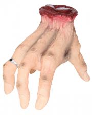 Krabbelnde abgehackte Hand Halloween Animatronic