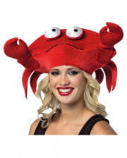 Krabben Mütze rot