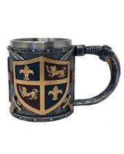 Kreuzritter Wappen Krug