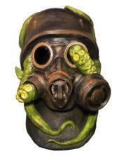 Kriegs Gasmaske mit Krake