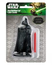 Cake candle Darth Vader
