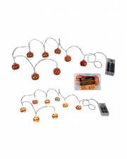 Pumpkin Fairy Lights With Colour Changing LED 1,3m