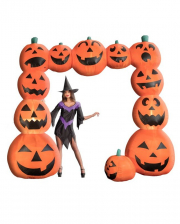 Inflatable Pumpkin Portal With Light 240cm