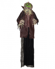 Pumpkin Scarecrow With LED 180 Cm