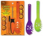 Pumpkin Carving Set with templates