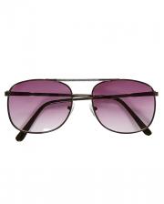 Kultige 80s Pilotenbrille als Kostümaccessoire