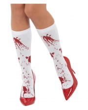 Short Blood Splatter Socks
