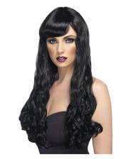 Cosplay woman wig black