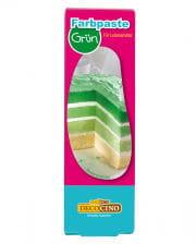 Farbpaste für Lebensmittel grün