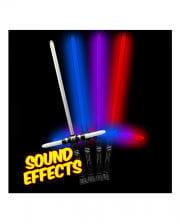 LED Tri-Saber Lichtschwert Multicolor & Sound