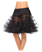 Petticoat Knee Length Black