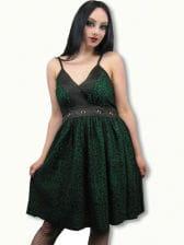 Leopard Dress green