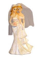 Lesbisches Hochzeitspaar 16,5 cm