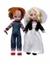 Living Dead Dolls Chucky & Tiffany Doll Set 25cm