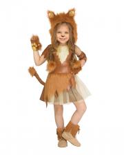 Löwenmädchen Kinderkostüm
