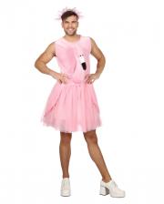 Männerballett Flamingo Kostüm