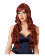 Mahogany Red Longhair Ladies Wig