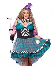 Manic Mad Hatter Plus Size Kostüm für Damen