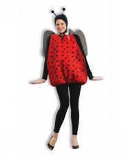 Marienkäfer Kostüm mit Flügel & Fühler