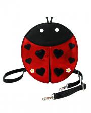 Ladybird Shoulder Bag Vinyl