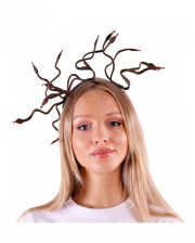 Medusa Headdress With Snakes