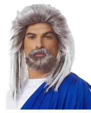 Sea King Wig With Beard