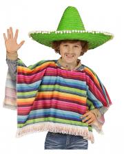 Mexikaner Poncho für Kinder