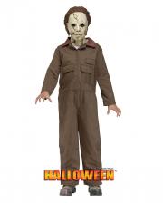 Michael Myers Kostüm mit Maske für Kinder