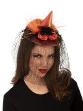 Mini Witch Hat Orange