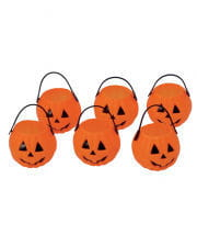 Mini Pumpkin Kettle Pack Of 6