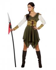 Mittelalter Kriegerin Kostüm