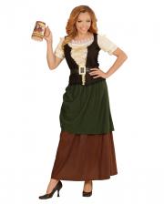 Mittelalter Magd Kostüm